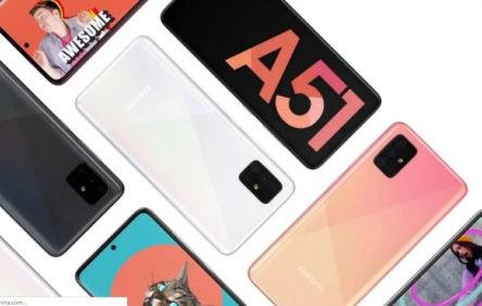 Screenshot Samsung A51
