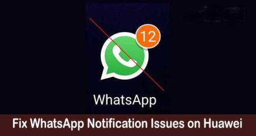 Notifiche whatsapp non funzionano