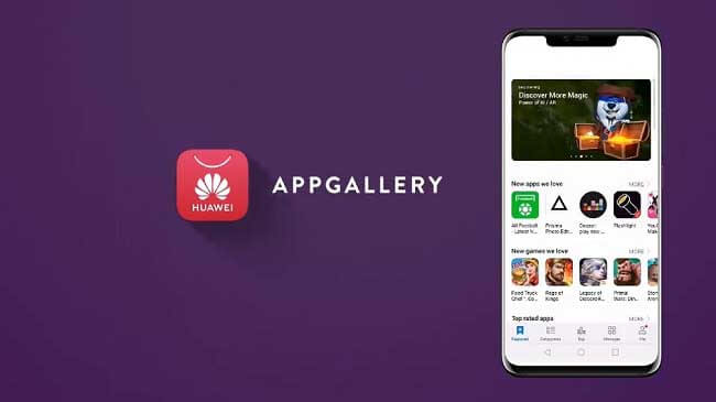 Huawei La migliore alternativa a Google Play Store