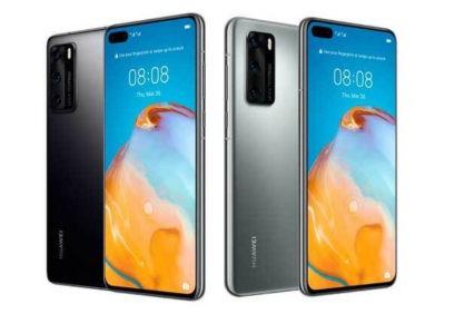 Huawei P40 guarda la presentazione Live