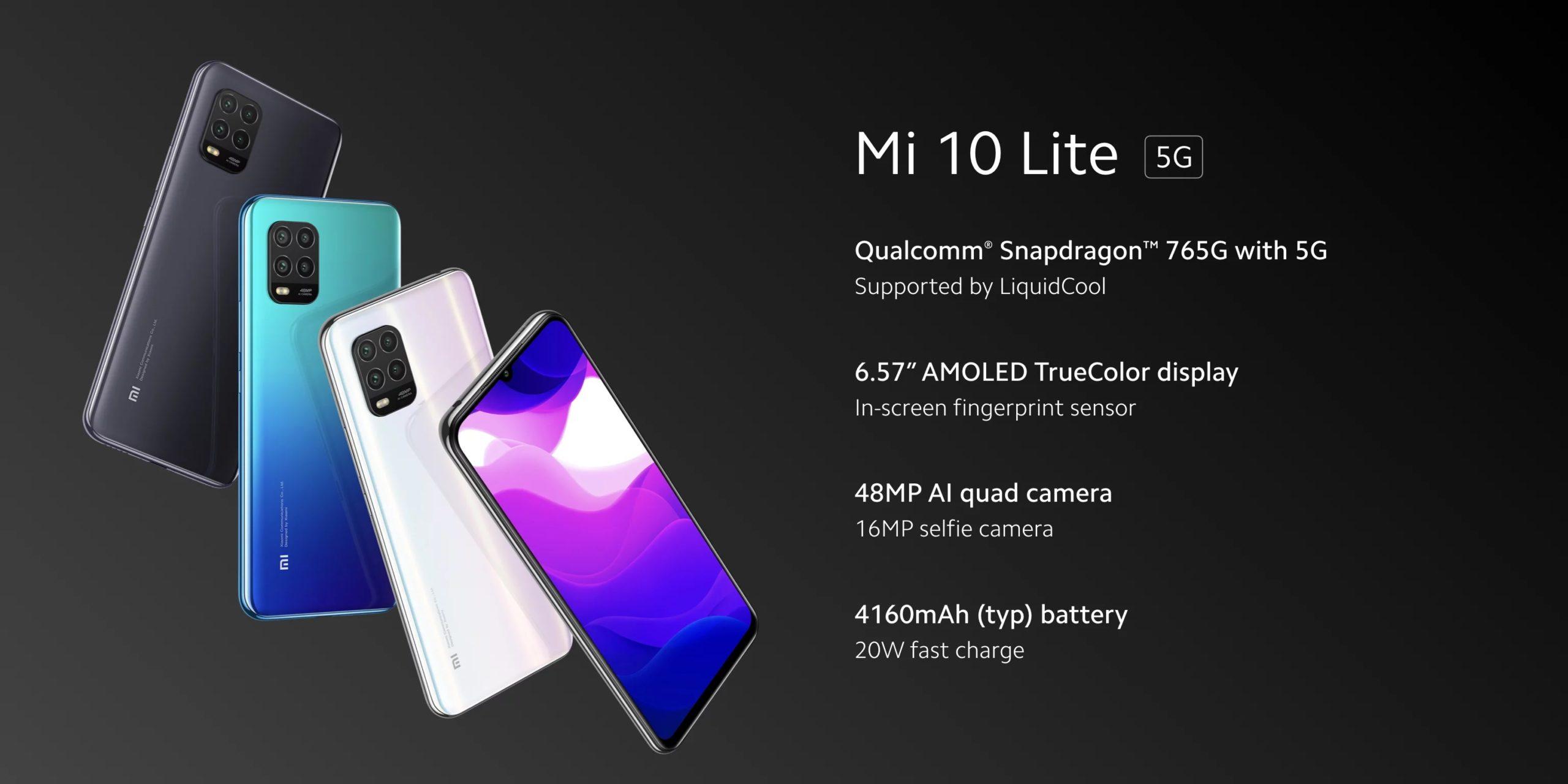 Manuale Xiaomi Mi 10 Lite libretto istruzioni PDF Scarica