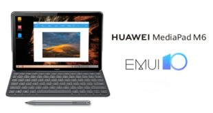 Aggiornamento EMUI 10 Huawei MediaPad serie M6 in Arrivo