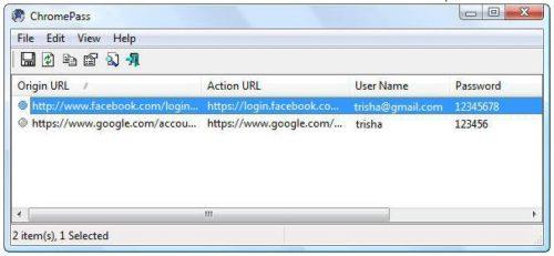 Scopri le password memorizzate su Chrome e Firefox