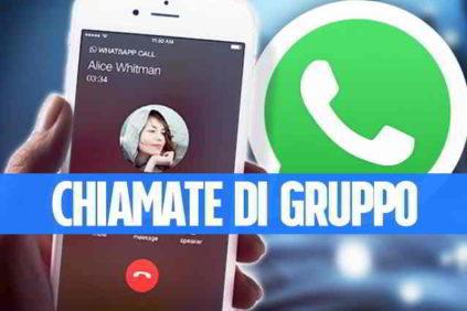 Numero massimo partecipanti chiamata WhatsApp