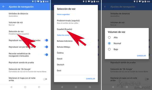 Come cambiare la voce di Google Maps su iPhone e Android