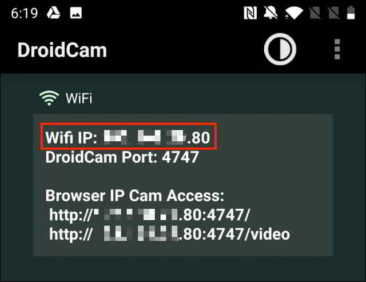 Come usare lo smartphone Android come webcam su Windows 10