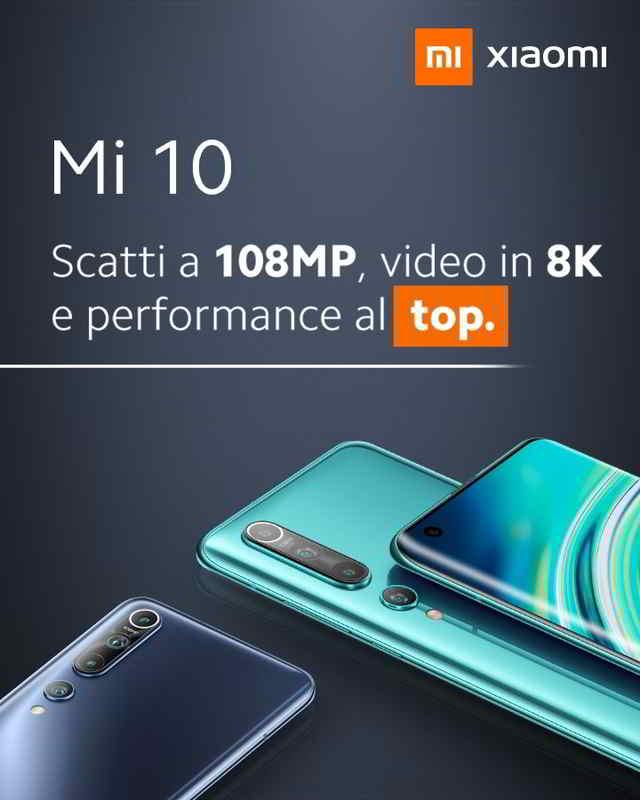 Come fare screenshot Xiaomi Mi 10 catturare schermata