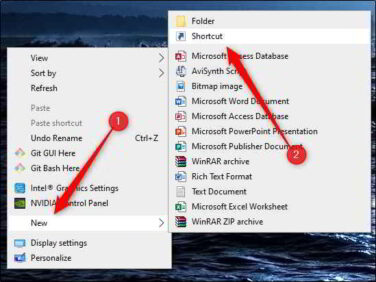 Come creare unicona di spegnimento in Windows 10 su desktop