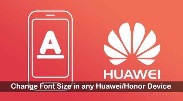 Dimensione carattere messaggi Huawei come si cambia