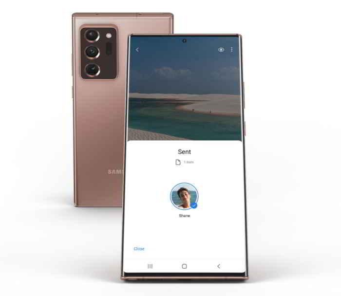 Samsung Galaxy Note 20 Ultra è resistente all'acqua