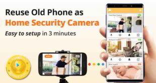 Come trasformare il tuo smartphone in una telecamera di sorveglianza