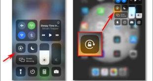 Come bloccare l'orientamento dello schermo su iPhone o iPad