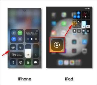 Come bloccare lorientamento dello schermo su iPhone o iPad