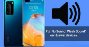 Come riparare un telefono Huawei senza audio