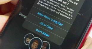 Autorizzazioni App iPhone