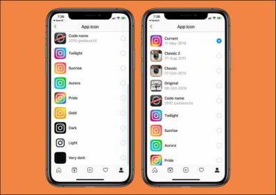 iPhone e Android Come cambiare licona di Instagram