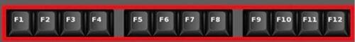 Tasti F1 F2 F3 F4 F5 F6 F7 F8 F9 F10 F11 ed F12 sulla tastiera di Windows 10 a cosa servono e come si usano