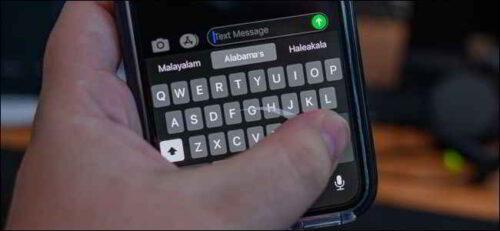 Disattivare la tastiera Swipe su iPhone