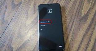 Bisogna cancellare la cache di sistema dal telefono Android