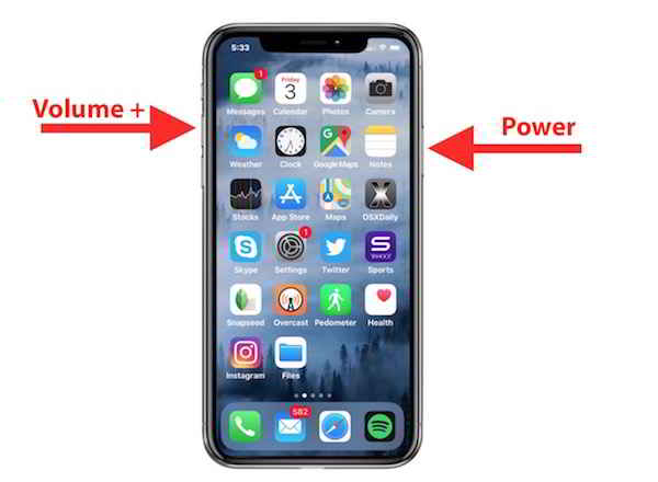 Screenshot iPhone 12 Pro come si fa