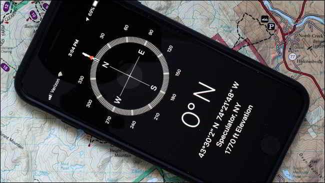 misurare altitudine con iPhone