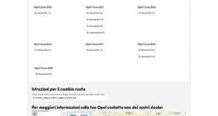 Manuale Opel Corsa elettrica Italiano PDF