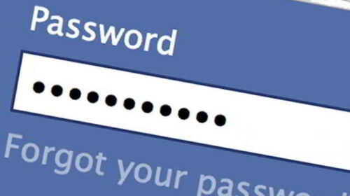 Password Facebook falsifica