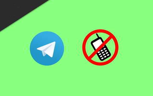 Posso usare Telegram senza numero di telefono