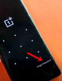 Come sbloccare un telefono OnePlus 8 bloccato da password