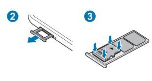 Come inserire scheda SD Samsung M12