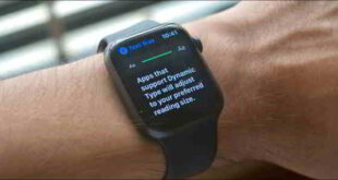 Come aumentare dimensione del carattere su Apple Watch